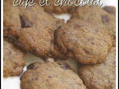 Recette Cookies saveur café aux pépites de chocolat par Chilubru - Ptitchef