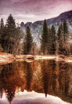 Mirror Lake, Yosemite National Park, USA