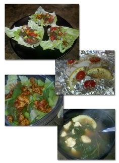 hcg diet recipes and meal images