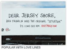 Dear Jersey Shore... With Love, Philadelphia XOXO