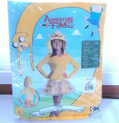 New Rubie's Adventure Time Jake Girls Halloween Costume Small 4-6 #Rubies #CompleteOutfit