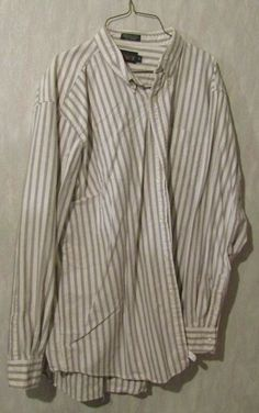 0223ceffa J Crew striped shirt men s XL Extra Large long sleeves first class shipping   fashion