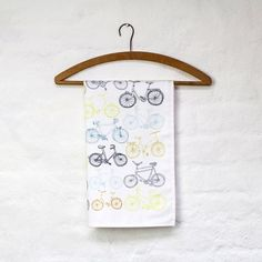 Take the Bike tea towel