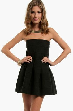 Bandage Skater Dress ~ TOBI