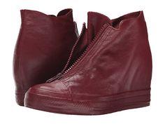 Converse Chuck Taylor® All Star® Lux Leather Shroud Mid Black/Black/Black - Zappos.com Free Shipping BOTH Ways