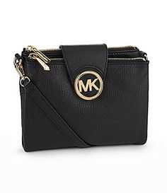 Michael Kors Fulton Cross-body. I have this one in silver!