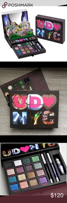 BNIB Reduced! Urban Decay Loves New York Palette Unopened! Limited Edition Urban Decay Loves New York Eye Palette. Collector's item and very hard to find in brand new condition. A beautiful palette. Urban Decay Makeup Eyeshadow