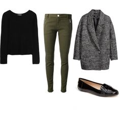 A fashion look from January 2014 featuring longer sweater, fur-lined coats and green pants. Browse and shop related looks. Green Pants, Long Sweaters, Outfit Of The Day, Fashion Looks, Casual, Polyvore, Outfits, Shopping, Beautiful