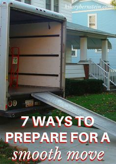 By following these 7 tips to prepare for a smooth move, moving day won't be so incredibly difficult.