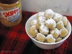 Peanut Butter Snowballs.  These peanut butter balls are easy to make, delicious and unique because they're rolled in powdered sugar vs. dipped in chocolate.