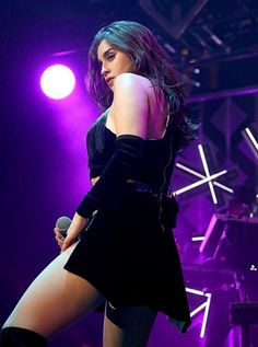 Lauren Jauregui of Fifth Harmony performs in concert during the KISS FM's Jingle Ball 2016 Presented by Capital One at American Airlines Center on November 2016 in Dallas, Texas. Dove Cameron, Kylie Jenner, Selena Gomez, Forever My Girl, Fifth Harmony Lauren, Camila And Lauren, Female Singers, Celebs, Celebrities