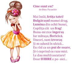 Doamna Fagilor: Cine sunt eu? Kids Poems, Educational Activities For Kids, Happy Birthday Fun, Preschool At Home, Baby Play, 4 Kids, Nursery Rhymes, Kids And Parenting, Holiday Parties