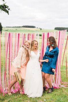 DIY Photobooth | Gorgeous Barn Wedding in Germany | Ashley Ludaescher Photography | Bridal Musings Wedding Blog