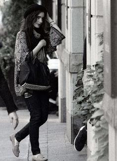 Lily Collins ~ She IS my style role model <3 :)