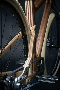 chirosangaku: Niner Bikes's album: Wooden Bike.