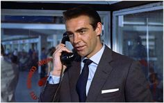 Sartorial Icon: James Bond [1962 Dr No]. Notice those cuffs: Turnbull & Asser turnback button closure.