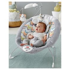 Fisher-Price Sweet Snugapuppy Dreams Deluxe Rock 'n Play Sleeper Baby Bouncer Baby Bouncer Seat, Best Baby Bouncer, Fisher Price, Baby Necessities, Baby Essentials, Bouncers, Baby Swings, Little Puppies, Seat Pads