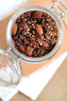 Granola homemade pour un petit déjeuner gourmand, healthy et complet www.sweetandsour.fr #vegan #glutenfree