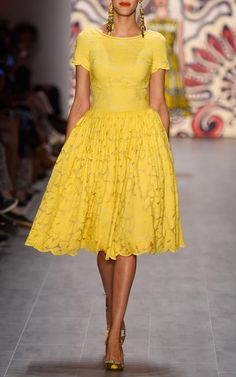 Lena Hoschek Spring/Summer 2015 Trunkshow Look 7 on Moda Operandi