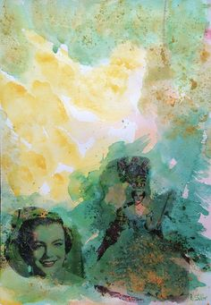 Romy I #contemporaneo #elche #art #paintings #antoniasoler #contemporaryart #romyschneider #painting