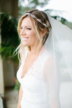 Photography: Heather Kincaid - heatherkincaid.com  Read More: http://www.stylemepretty.com/california-weddings/2014/05/23/romantic-elegance-at-bel-air-private-estate/