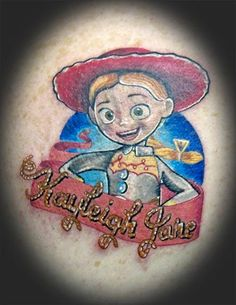 9a310675f toy story tattoos | Tattoo Station : Tattoos : Jeff Stevens : Toy Story  Daughter Tattoo. Inkoholiks Tattoo-studio