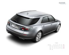 New Saab 9-5 SportCombi. It's a wagon and it's beautiful, what more could I want?