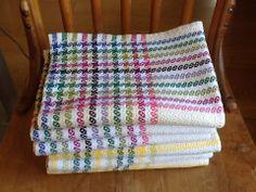 Ravelry: doreenmacl's JST Tea Towel Exchange 2014 Summer Stars