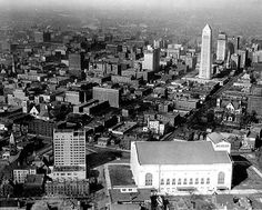 Aerial view of Downtown Minneapolis, Great Places, Places To Go, Fountain City, Park Rapids, White Bear Lake, Minneapolis Minnesota, Old Building, Historical Images, Twin Cities