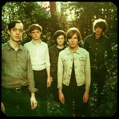 rad band pic, The Horrors photo by Neil Krug