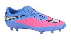 $75 - Women's Nike Hypervenom Phelon FG Soccer Cleat Pink Pow/White/Chrome Size 8 M US #sports #sporting_goods #nike #2014