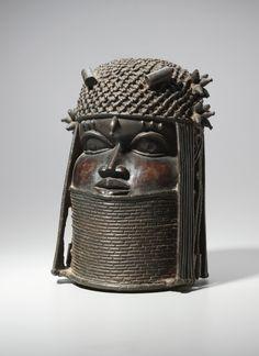 Head, possibly mid 1500s or early 1600s Guinea Coast, Nigeria, Benin Kingdom, Edo, possibly mid 16th or early 17th century