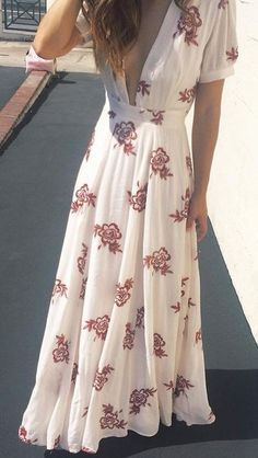 Floral Maxi Dress Source