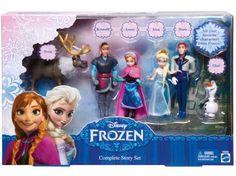 Disney Frozen 6 Amigos Mini - Mattel com as melhores condições você encontra no Magazine Vivigonc. Confira!