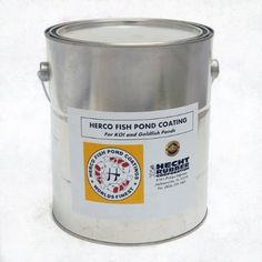 Herco H-55 Pond Coating - One Gallon by Herco. $140.00. Herco H-55 seals off concrete pores, providing an inert environment for your fish and promoting healthy algae growth.. Easy-to-apply environmentally-friendly coating for concrete, brick or block ponds. Eliminates the problems associated with new pond construction.. Herco coating is economical to use and long lasting. One gallon of Herco H-55 Coating covers approximately 80 to 100 square feet.. 100% Fish-Safe product...