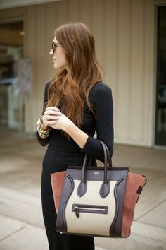 Celine - fabulous large office tote handbag!