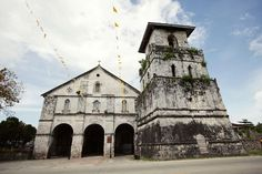 One of the oldest church in the Philippines. Baclayon Church.