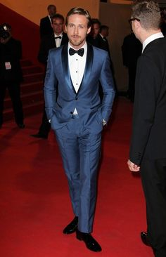 Ryan Gosling at Cannes premiere for Drive