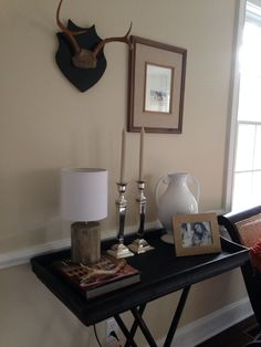 Rustic vignette styling