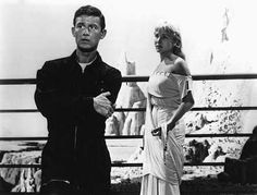 """""""The Twilight Zone"""" (1959-64)  Roddy McDowall, Susan Oliver in """"People Are Alike All Over"""" episode"""