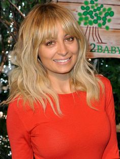 Nicole Richie...her fringe is so perfect...