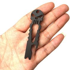 LOW STOCK, only 200 left! Order today and get FREE SHIPPING. LIMITED TIME ONLY! NOT SOLD IN STORES Very handy, versatile and looks pretty cool too! This can be used as a key chain, pry bar multi funct