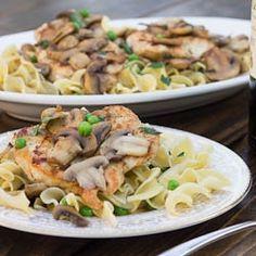 Chicken Marsala by fortmillscliving