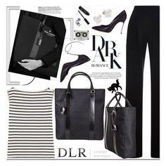 """Dark Romance"" by mashajazzliving ❤ liked on Polyvore featuring Misha Nonoo, Yves Saint Laurent, Casadei, Mikimoto, Bobbi Brown Cosmetics, Chanel, women's clothing, women, female and woman"