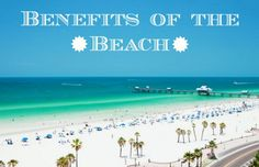 Benefits of the Beach Who doesn't love a trip to the beach?! It's the perfect place to unwind, get a tan, and have some fun! Many don't know this, but going to the beach has a handful of health and beauty benefits. Check out how a trip to the beach can make your body happy and make you feel even more beautifu...  Read More at http://www.chelseacrockett.com/wp/lifestyle/benefits-of-the-beach/.  Tags: #Beach, #Benefits, #BenefitsOfTheBeach, #Exfoliate, #Hair, #