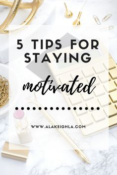 Happy Spring everyone! A new season gives us a fresh start, and it's time to get motivated! I know, it can be hard to be productive and stay motivated. It may seem impossible, but you CAN get up and get going to have the most successful day possible. The problem is getting started. Here's how …