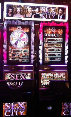 Sex and the City slot machine by Paxton Holley, via Flickr  THE BEST SLOT MACHINE EVER!