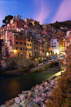 ~~Riomaggiore ~ Cinque Terre, Italy by Alice Lorenzini~~