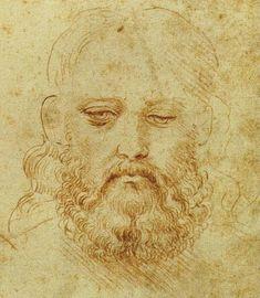 Study of Cesare Borgia, Leonardo da Vinci