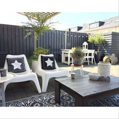 garden ideas s Outdoor Lounge, Outdoor Areas, Outdoor Rooms, Outdoor Living, Outdoor Decor, Garden Furniture, Outdoor Furniture Sets, String Lights Outdoor, Outside Living